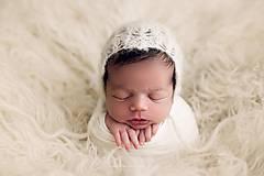 Detské čiapky - čiapka pre novorodenca - 9107529_