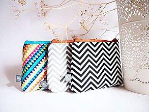 Taštičky - Kozmetické taštičky malé - minimal - 9110168_