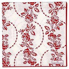 Papier - Servítka  G28b-Feur red large - 9109185_