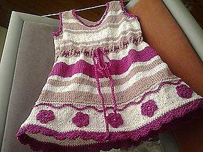 Detské oblečenie - Šatôčky letné pre deti - 9110958_