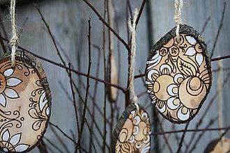 Dekorácie - drevená závesná dekorácia11 - 9108608_