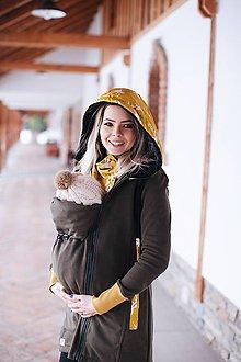 Mikiny - Nosičský kabátik hunter - 9111281_