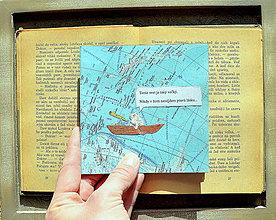 Papiernictvo - Recyklovaná pohľadnica