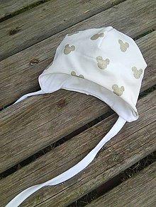 Detské čiapky - kojenecká čiapočka č 56 - 9108194_