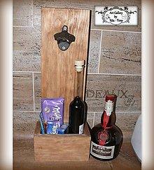 """Dekorácie - Otvárak na fľaše-zásobník """"Dub"""" :) - 9108052_"""