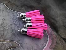 - Strapčeky  - pár (Neonová ružová) - 9106722_