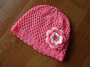 Detské čiapky - Háčkovaná čiapka - 9109725_