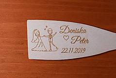 Drevená vareška gravírovaná vypaľovaná darček svadobčanom 3
