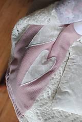 Jemná ružová deka
