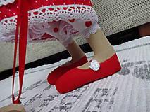 Bábiky - Červená myška - 9112215_