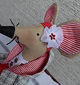 Bábiky - Červená myška - 9112217_