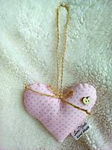 Detské doplnky - Malé srdce s veľkým srdcom - 9113828_