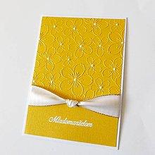 Papiernictvo - pohľadnica svadobná - 9111669_