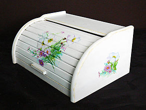 Nádoby - Ručne maľovaný chlebník - 9115707_