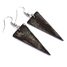 Náušnice - Visiace trojuholníky 2 - 9113917_