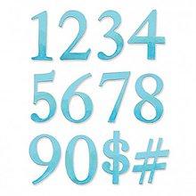 Pomôcky/Nástroje - Sizzix Bigz Die vyrezávacia šablóna Čísla a znaky - 9113601_