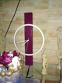 Hodiny - nástenné/stojace hodiny Solid Wood 2 - 9113802_