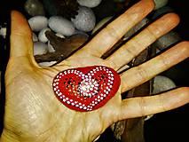 Dekorácie - Srdiečko z lásky :-) - 9114169_