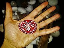 Dekorácie - Srdiečko z lásky :-) - 9114170_