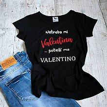 Tričká - Dámske tričko Valentino - 9114806_