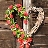 Dekorácie - Valentínske srdce - 9111825_