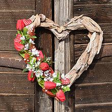 Dekorácie - Valentínske srdce - 9113673_