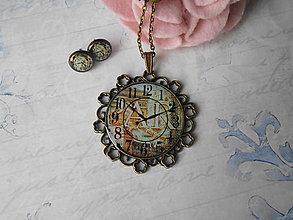 Sady šperkov - Hodinková romantika # 18 - ZĽAVA zo 6,20 eur - 9113503_