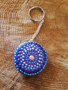 Magnetky - mandala (Mandala vnútornej energie - prívesok) - 9114141_