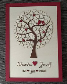 """Dekorácie - Svadobný strom """"Birds of love"""" - kniha hostí - 9113869_"""