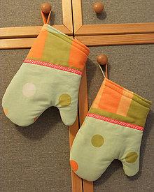 Úžitkový textil - Chňapky - 1 ks / květy - extra silné - 9113165_