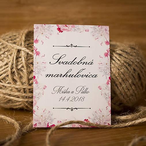d36d5753f Etiketa na svadobnú pálenku / cedulkovo - SAShE.sk - Handmade ...