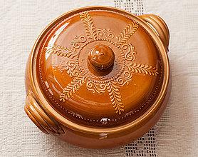 Nádoby - Keramická nádoba na pečenie - 9111770_