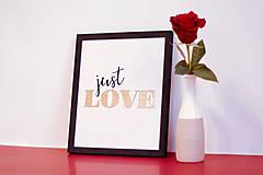 Obrazy - Just Love - 9115696_