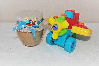 Potraviny - Detské pokušenie - medík pre Vaše deti (lietadielko 240 g) - 9115537_