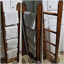 Nábytok - Retro rebrík na uteráky - 9111660_