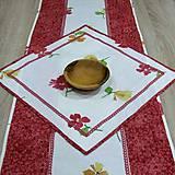 Úžitkový textil - Jar klope na dvere - obrus štvorec(2) 42x42 - 9114674_
