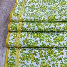 Úžitkový textil - Jar klope na dvere - stredový obrus 135x40 - 9113444_