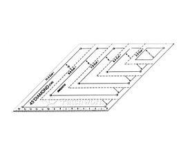 Pomôcky/Nástroje - Pravítko Diamant 45º - 9113827_