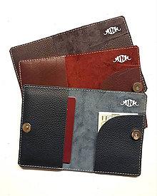 Peňaženky - Obal pre cestovateľov - 9112545_