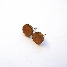 Náušnice - Jaseňové slniečka - 9115137_