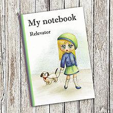 Papiernictvo - Venčenie psa - dievčenský zápisník (6) - 9113139_