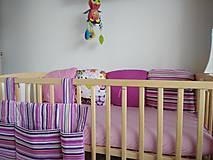 Textil - Ružová sada na objednávku - 9118636_