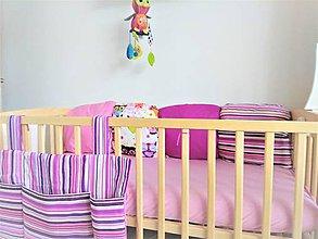 Textil - Ružová sada na objednávku - 9118673_