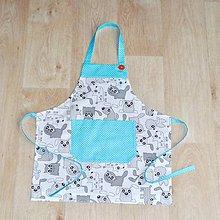 Iné oblečenie - zástera pre malé kuchárky - 9118807_