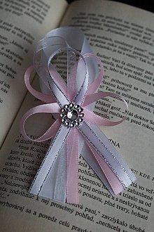 Pierka - Svadobné pierko pre svedka ružové - 9119905_