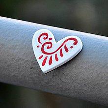 Magnetky - Magnetka Srdce ľudovô - 9119025_