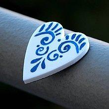 Magnetky - Magnetka Srdce ľudovka - 9119077_