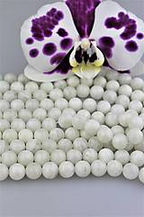 Mesačný kameň biely korálky 10mm