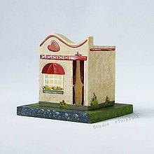 Detské doplnky - Miniatúrne domčeky na želanie (Béžová) - 9117736_