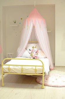 Textil - Princeznovský baldachýn nad posteľ - 9119738_